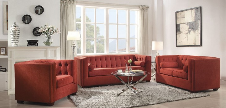 Cairns Crimson Living Room Set