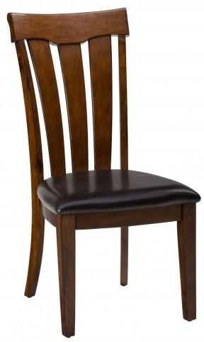 Plantation Upholstered Slat Back Chair Set of 2