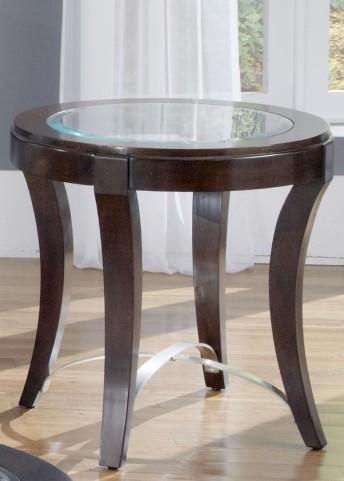Avalon Oval End Table