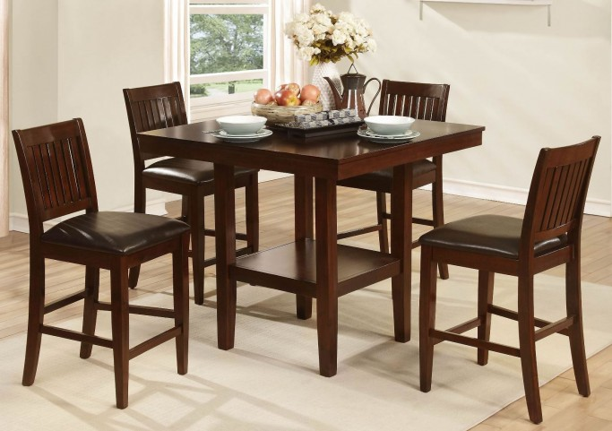 Galena 5Pc Pack Counter Height Set