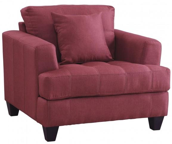 Samuel Red Chair