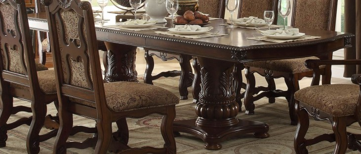 Thurmont Rich Cherry Leg Dining Table