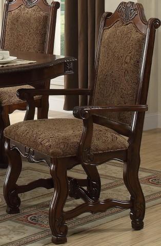 Thurmont Rich Cherry Arm Chair Set of 2