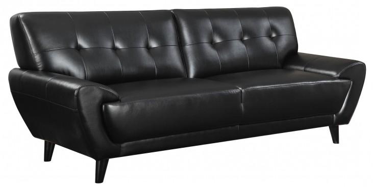 Leskow Black Sofa