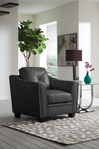Avison Grey Accent Chair