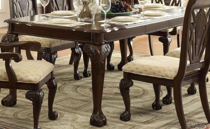 Norwich Warm Cherry Leg Dining Table