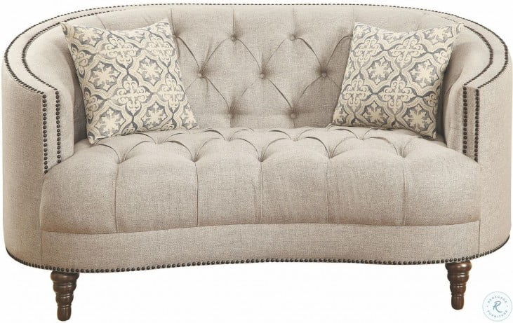 Avonlea Grey Loveseat