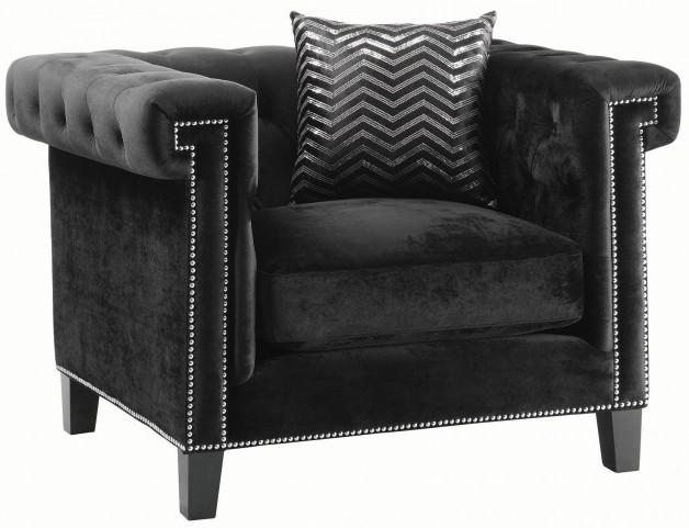 Reventlow Black Chair