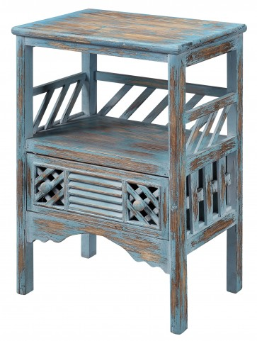 One Drawer Accent Table 50637