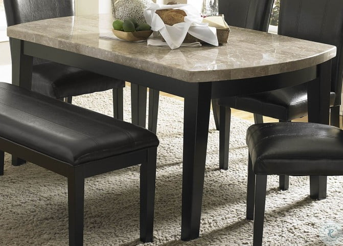 Cristo Marble Top Dining Room Set