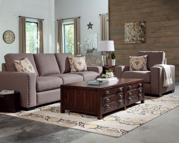 Rosanna Earthy Linen Living Room Set by Donny Osmond