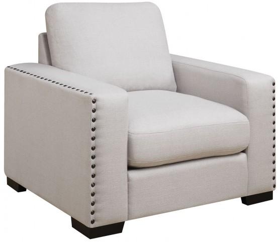 Rosanna Pewter Linen Chair by Donny Osmond