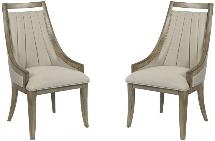 Evoke Barley Upholstered Dining Chair Set of 2
