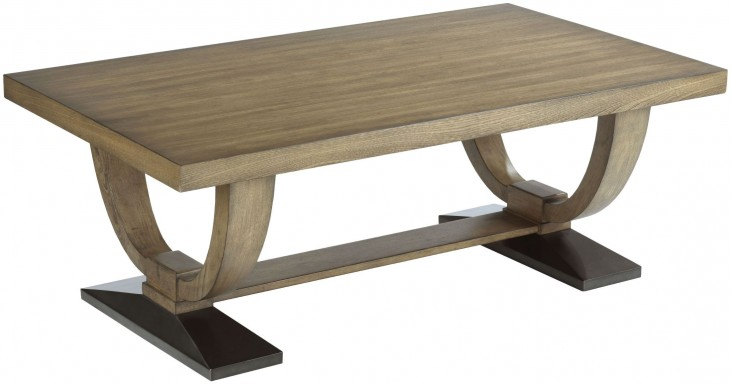 Evoke Barley Rectangular Cocktail Table