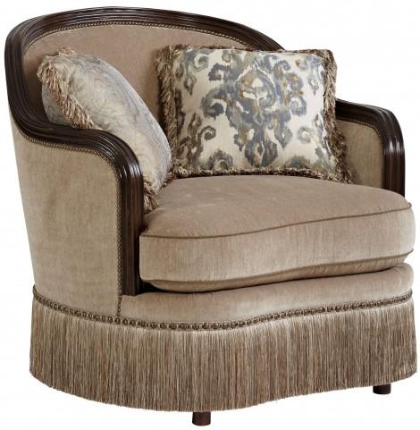 Giovanna Azure Upholstered Chair