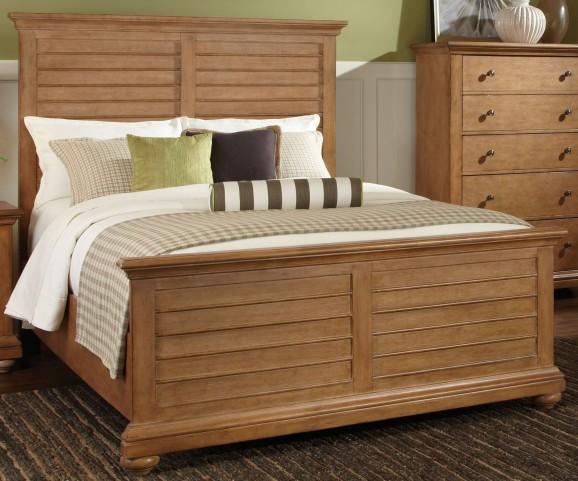 Pathways Sandstone Queen Panel Bed
