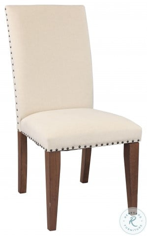 Mill Valley Beige Side Chair Set of 2