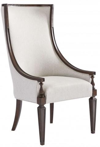 Villa Couture Mottled Walnut Matteo Host Chair