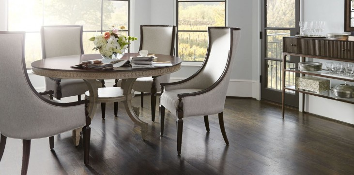 Villa Couture Ana Round Dining Room Set