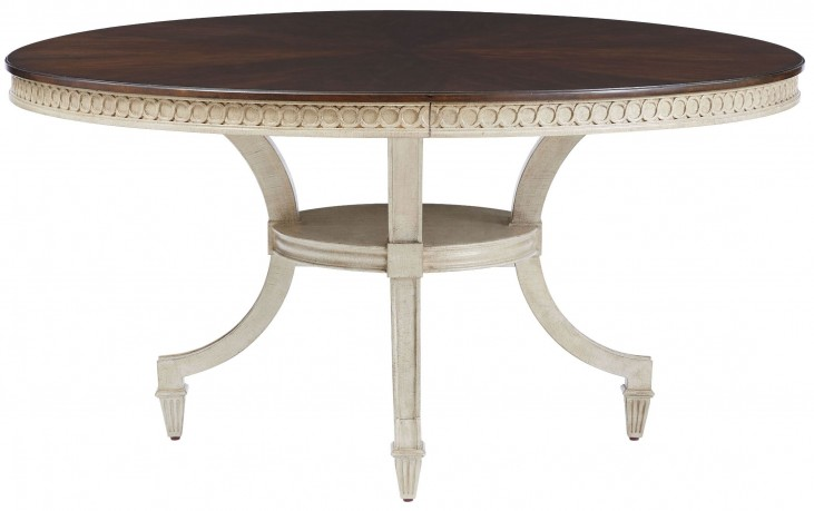 Villa Couture Glaze Ana Round Dining Table