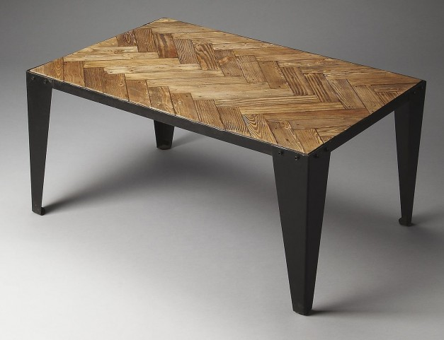 Tate Industrial Chic Cocktail Table