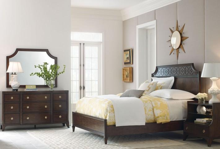 Grantham Hall Deep Coffee Bedroom Set