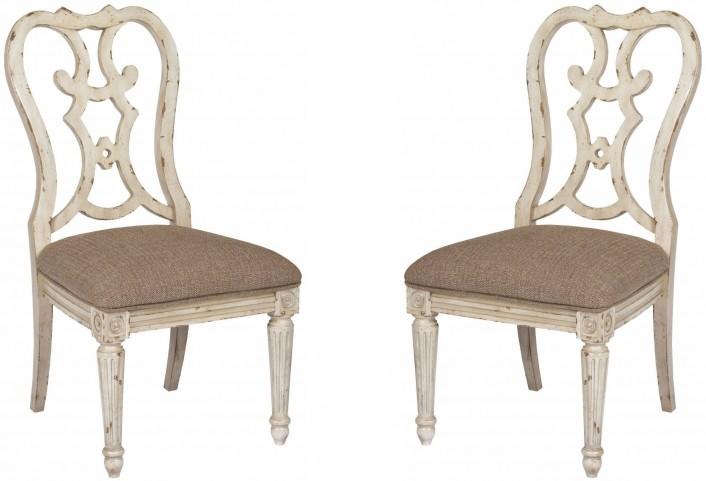Southbury Parchment Cortona Side Chair Set of 2