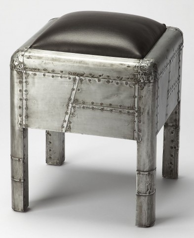 Industrial Chic Yeager Aviator Bunching Ottoman
