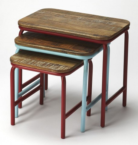 Industrial Chic Nesting Tables