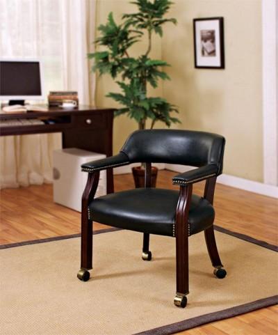 Black Office Guest Chair 515K