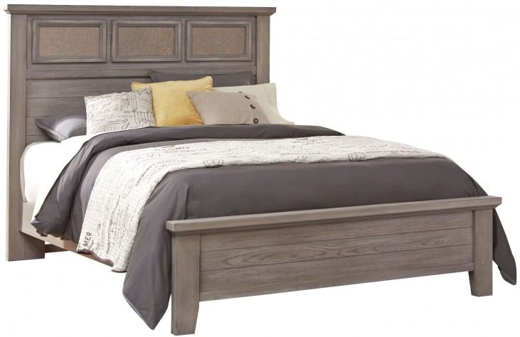 Cassel Park Weathered Gray King Tile Bed
