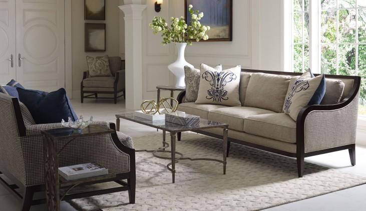 Bristol Linen Living Room Set