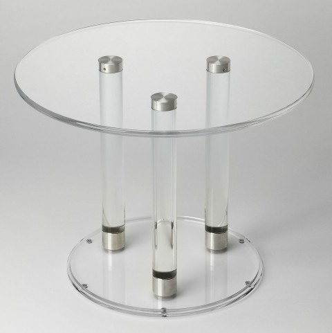 Butler Loft Landis Clear Acrylic Bunching Cocktail Table