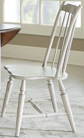 Oak Hill Gray Windsor Back Side Chair
