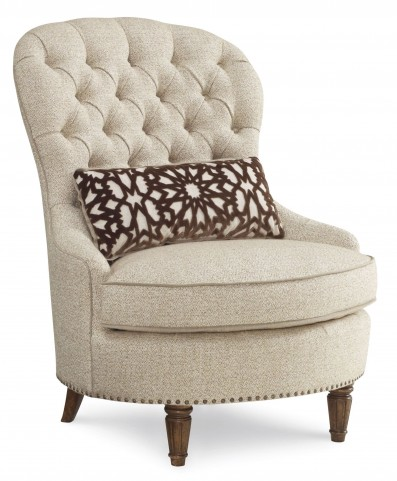 Collection One Upholstered Tufted Accent Chair