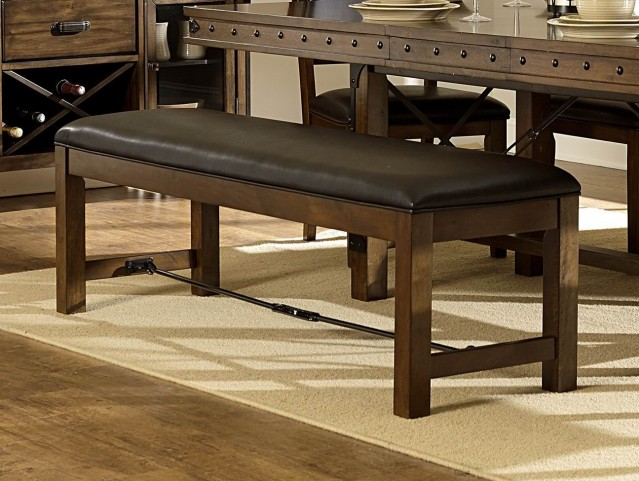 Urbana Burnished Bench