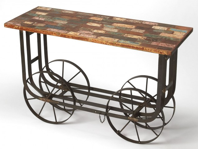 Mercer Industrial Chic Console Table