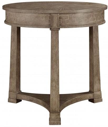 Wethersfield Estate Brimfield Oak Lamp Table