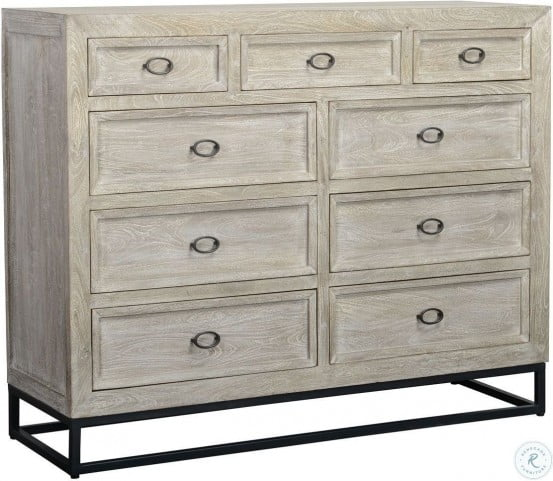 Artemis Gray 9 Drawer Dresser From Classic Home Coleman Furniture