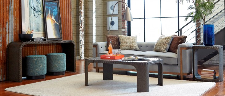 Epicenters Williamsburg Metal Occasional Table Set