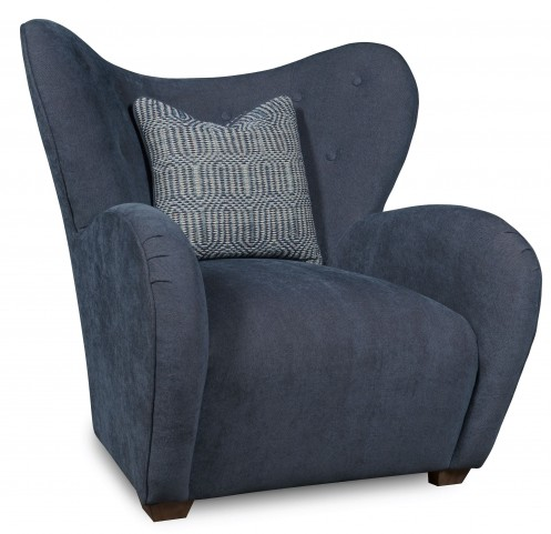 Epicenters Upholstered Gimbel Accent Chair