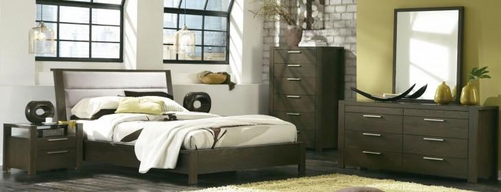 Hudson Upholstered Platform Bedroom Set