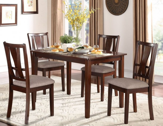 Rushville 5 Piece Dinette Set