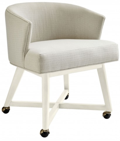 Coastal Living Oasis Saltbox White Carlyle Club Chair
