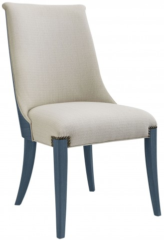 Coastal Living Oasis Cotswold Blue Wilshire Host Chair