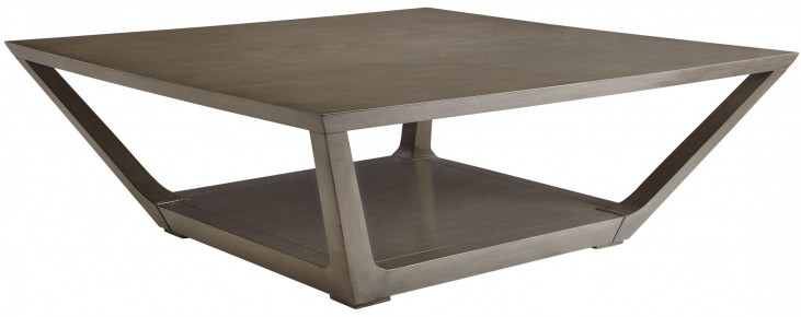 Coastal Living Oasis Grey Birch Poseidon Cocktail Table