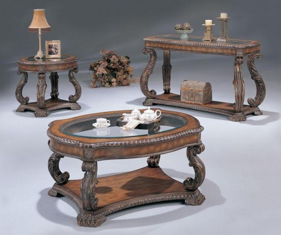 Doyle Occasional Table Set - 3891