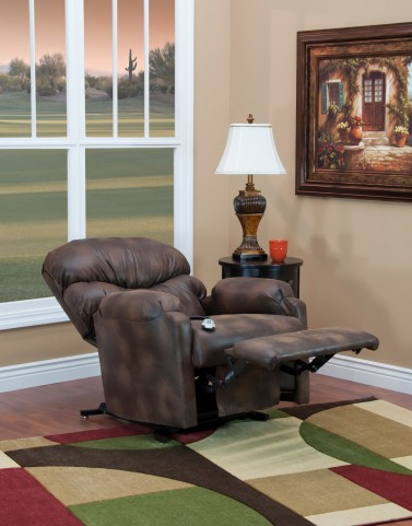 53 Series Wall-a-Way Reclining Lift Chair - Vista - Saddle
