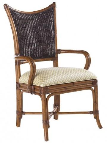 Island Estate Plantation Brown Mangrove Arm Chair