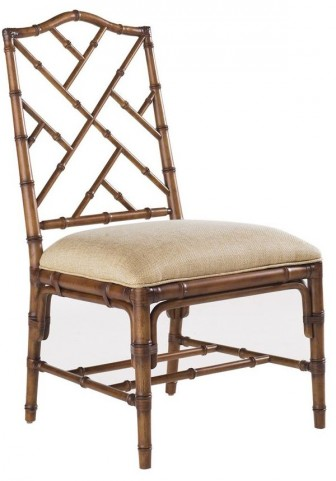 Island Estate Plantation Brown Ceylon Side Chair